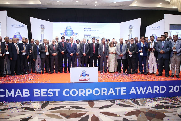 34 best companies bagged ICMAB Best Corporate Award 2018