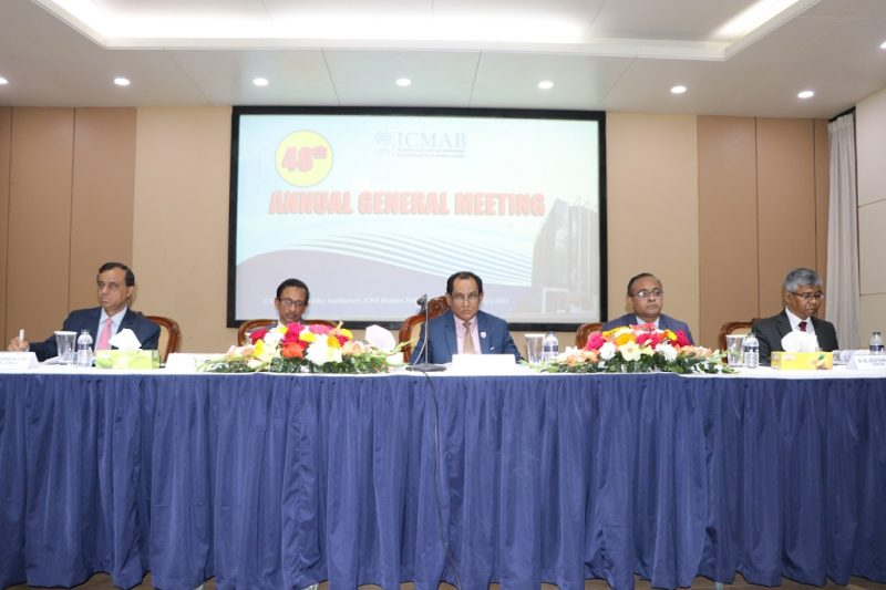 48th Annual General Meeting of ICMAB held